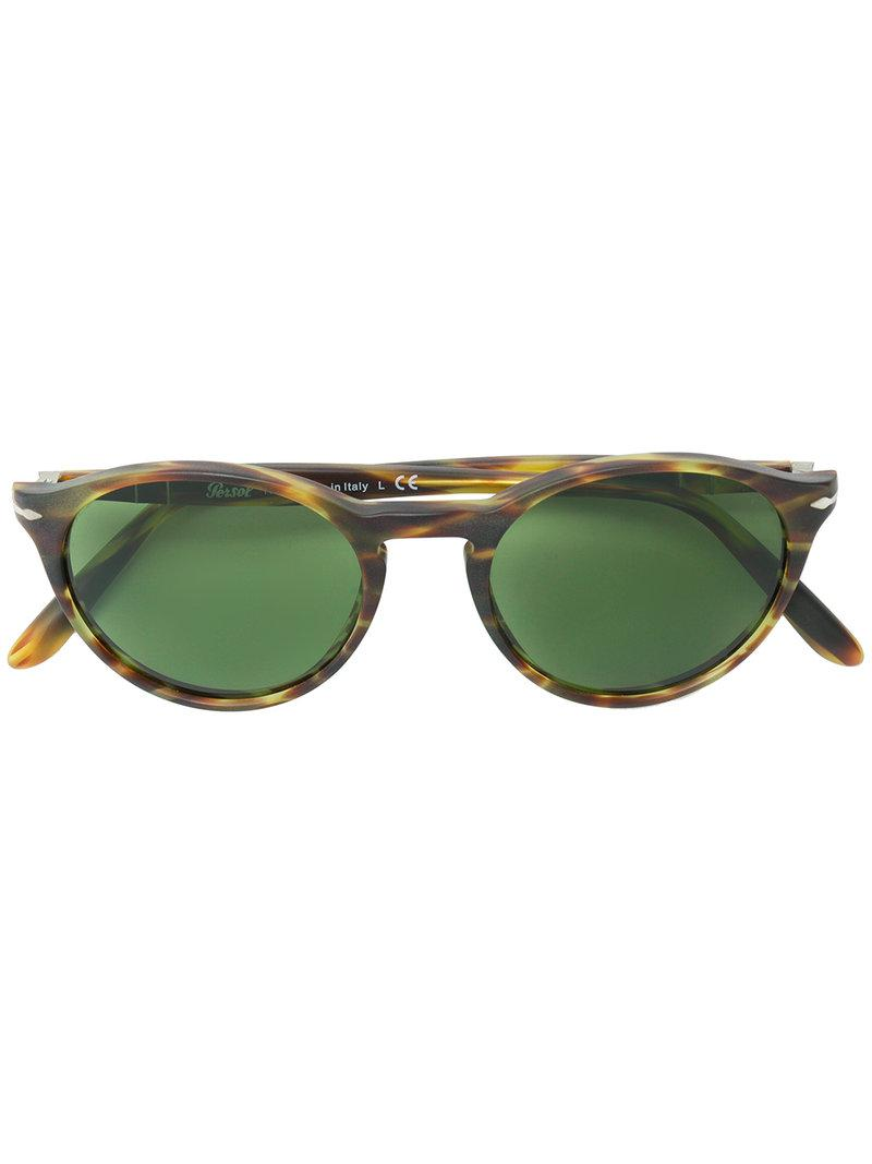 c3f34c9f23 Gafas de sol redondas Persol de hombre de color Marrón - Lyst