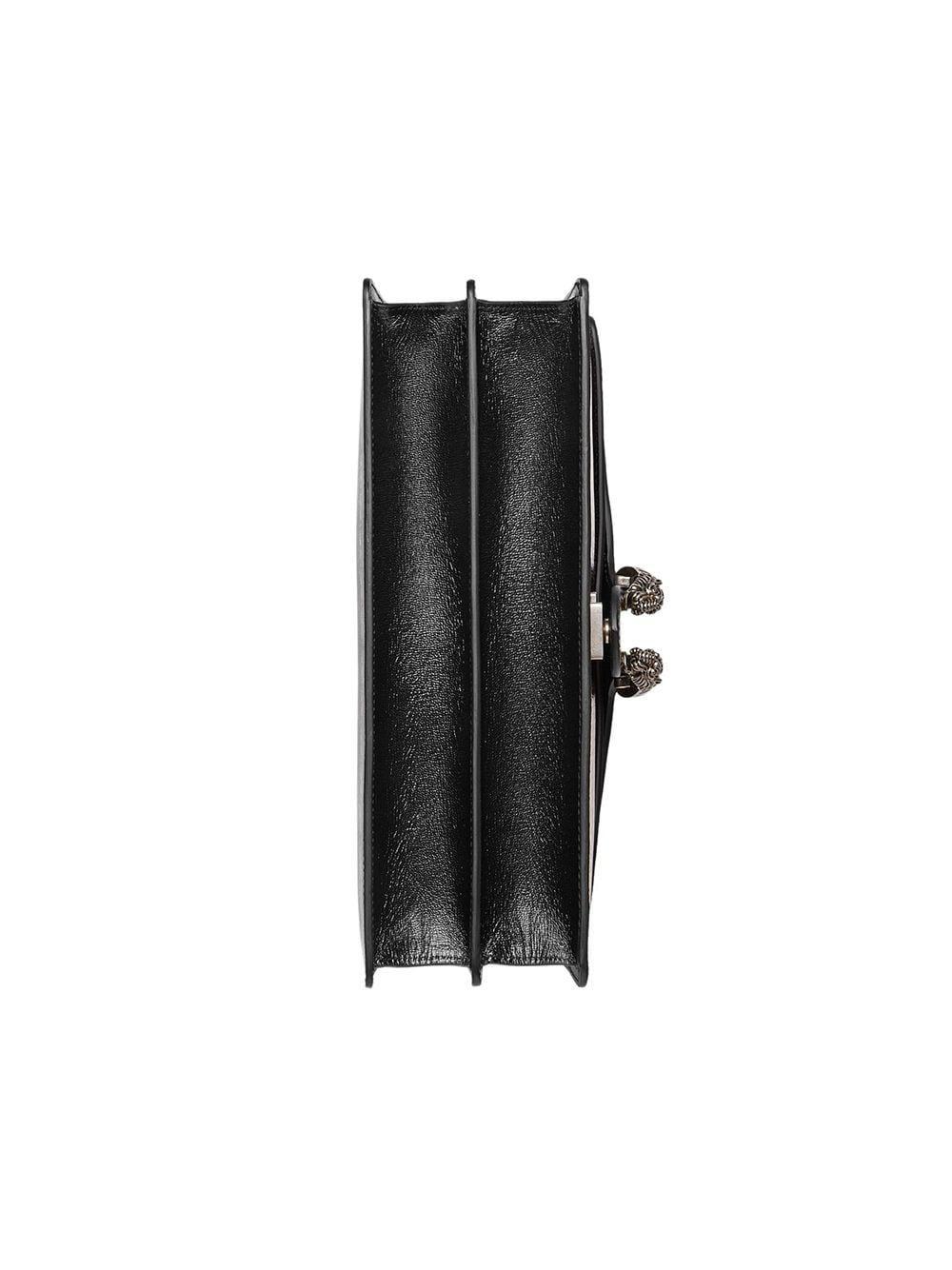 Lyst - Medium Guccy Dionysus shoulder bag Gucci en coloris Noir 7295b2ab4be