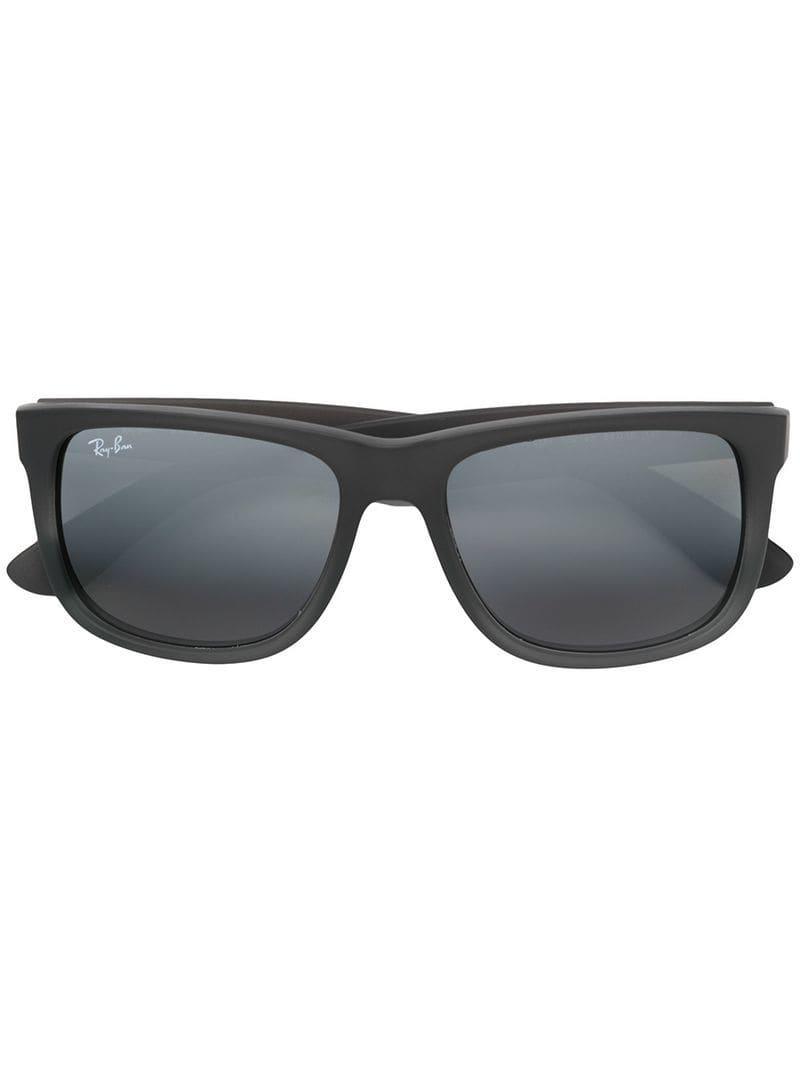d35e7ba4fccff Ray-Ban Justin Classic Sunglasses in Gray - Lyst