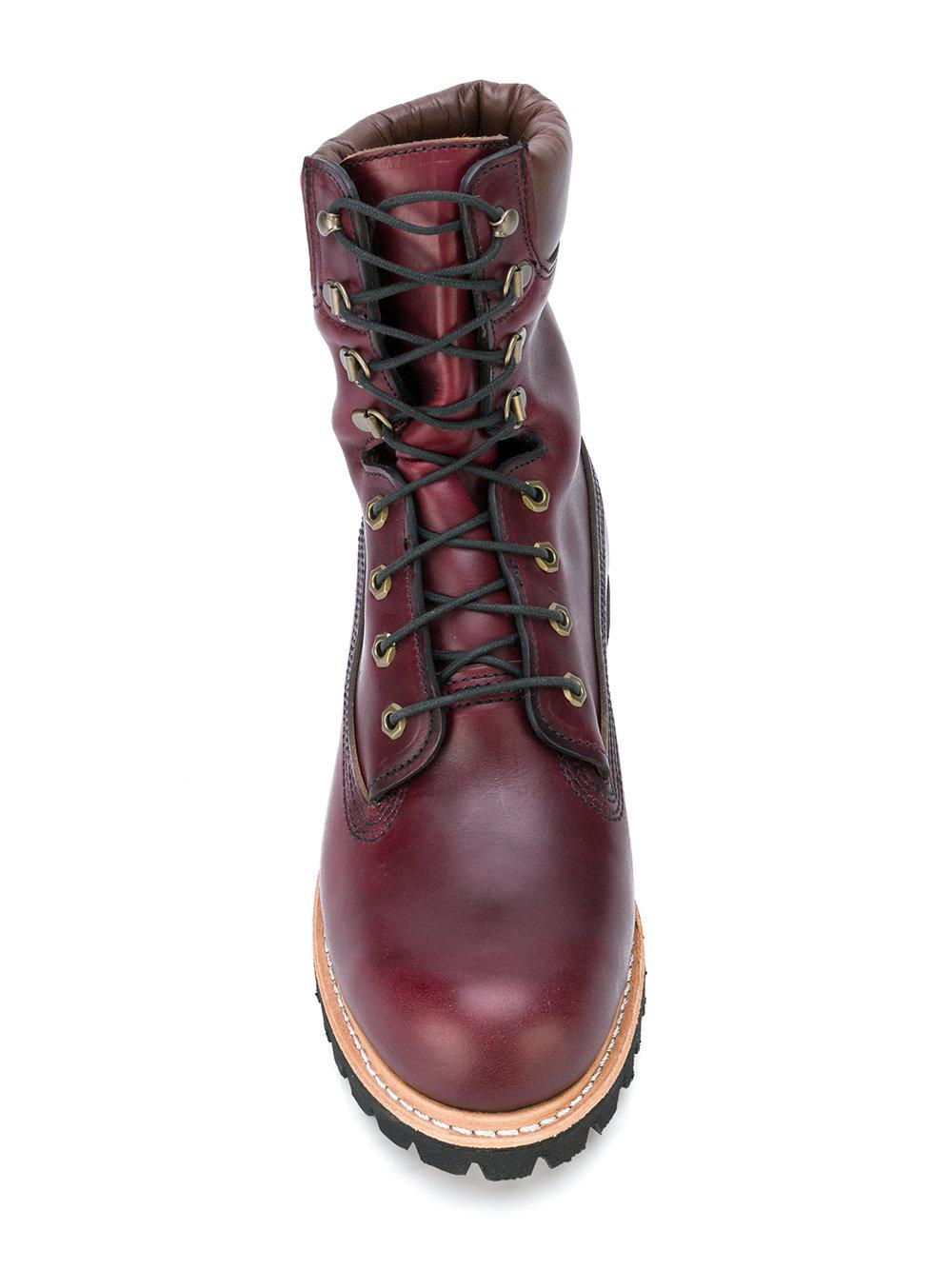25173436f2ba Lyst - Timberland Vibram Ankle Boots in Purple for Men
