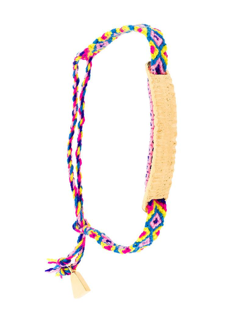 Lucy Folk Anchovy Friendship band - Multicolour
