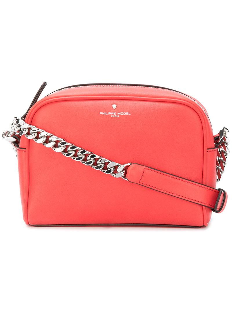 Philippe Model Laval pink leather bag hEqneP
