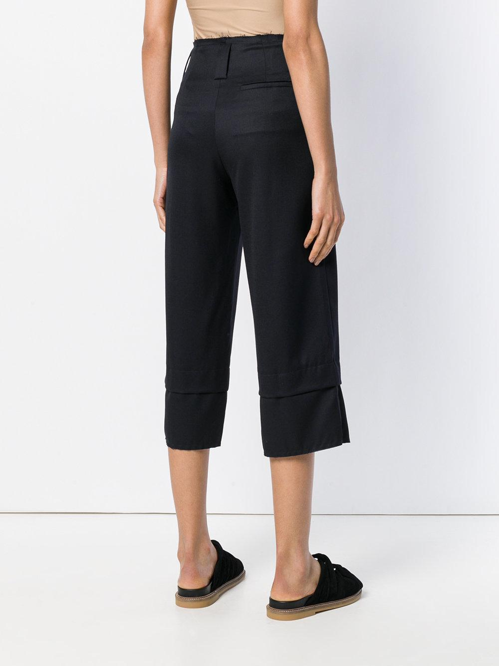 cropped trousers - Blue Reality Studio rtdPpW