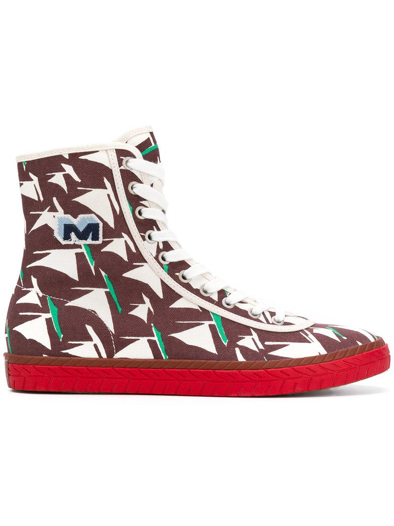 high top sneakers - Multicolour Marni gd3eNk