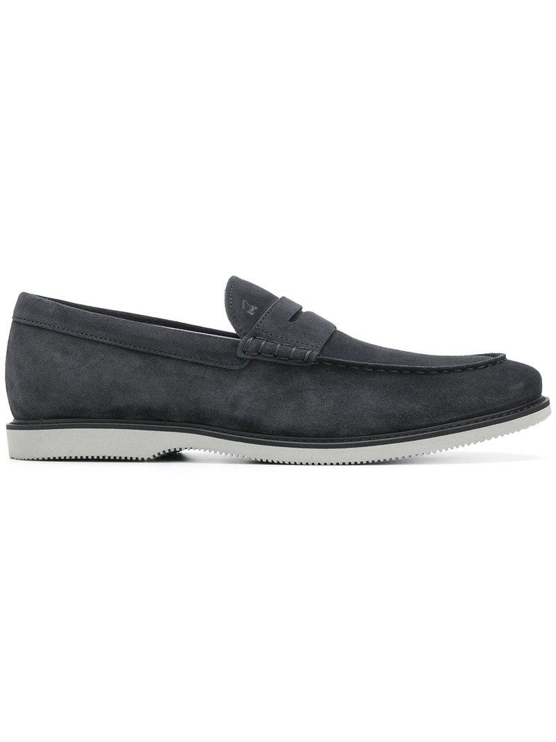 stacked loafers - Blue Hogan CX2yqaa