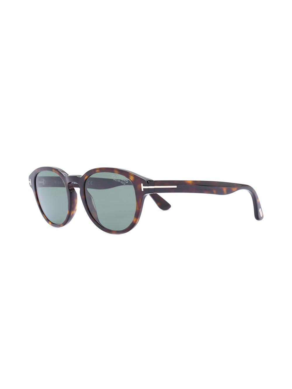 874ce1ee527 Tom Ford Von Bulow Sunglasses in Brown - Lyst
