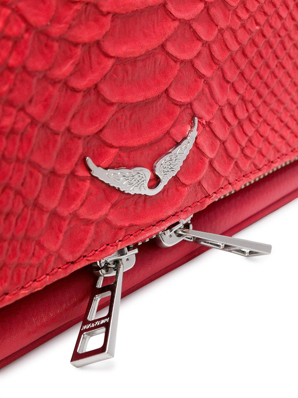 16282a12b66 Lyst - Bolso Sac Rock Savage Zadig   Voltaire de color Rojo