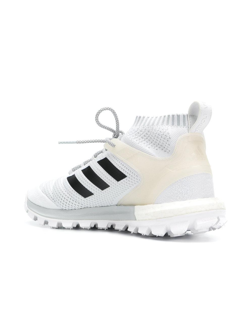 buy popular ae36f b438f Gosha Rubchinskiy - White X Adidas Copa Primeknit Sneaker - Lyst. View  fullscreen