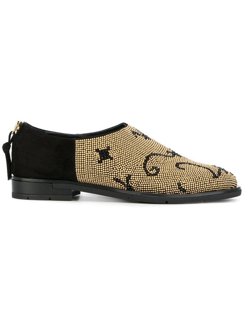 buy cheap fashionable Baldinini stud embellished loafers amazing price cheap online cheap sale low shipping fee pre order sale online Kq8P3