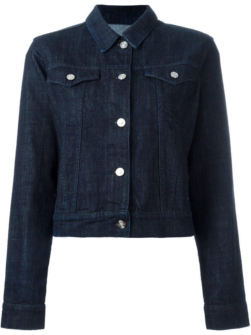 Lyst Kenzo Tiger Denim Jacket In Blue