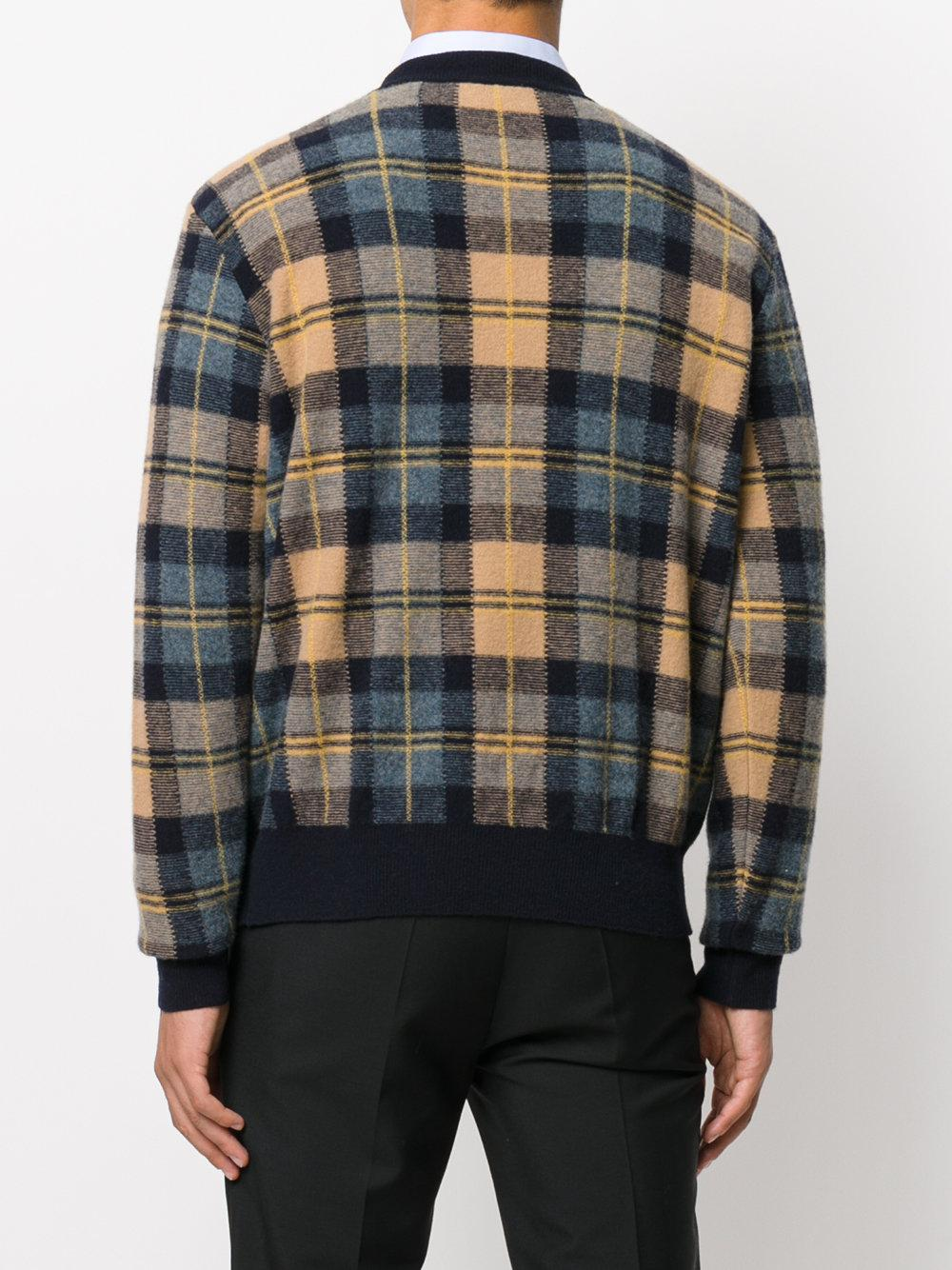 check sweater - Multicolour Stella McCartney Cheap Authentic Outlet Cheap Sale Finishline Outlet Websites LZZeChFu
