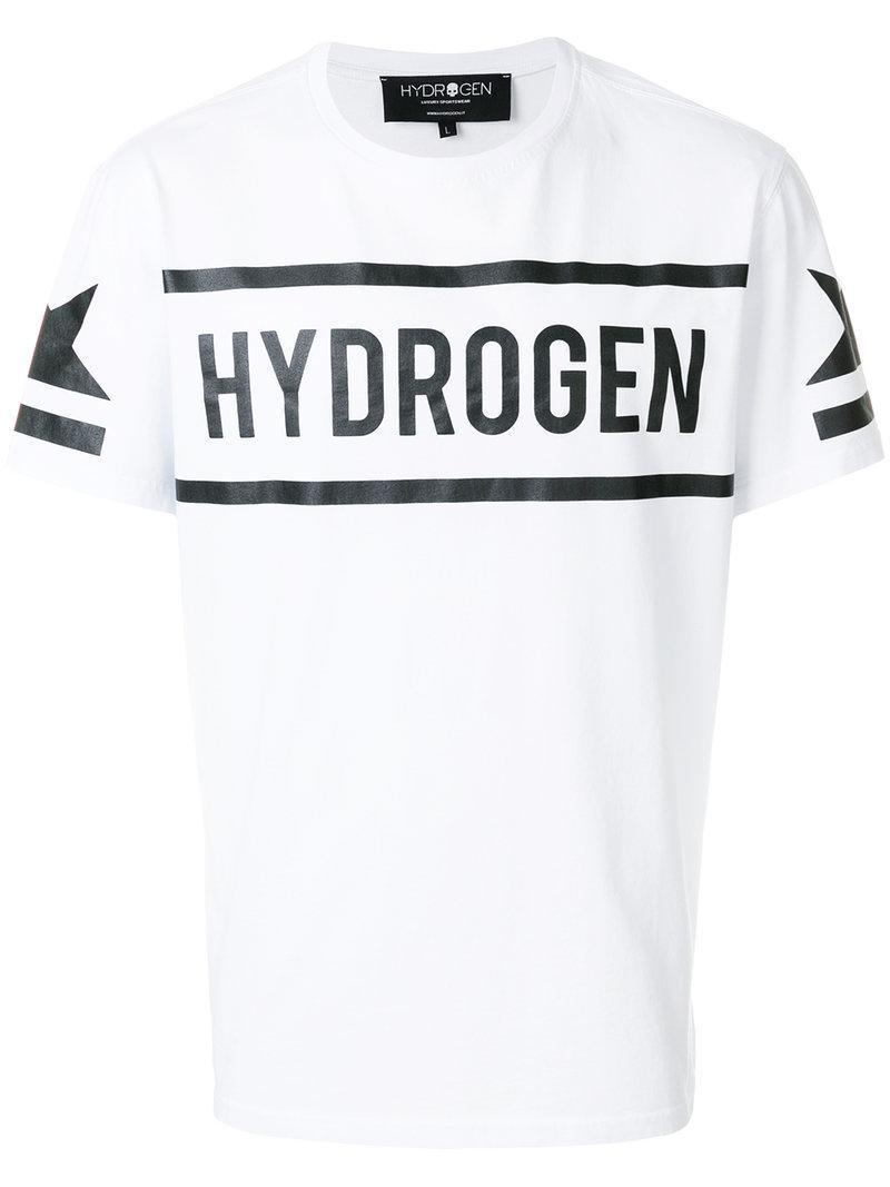 Qualité Supérieure Rabais Livraison Gratuite Pas Cher Hydrogen Logo print T-shirt HNj8JWd
