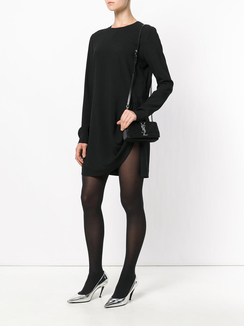 Lyst - Saint Laurent Toy West Hollywood Shoulder Bag in Black 67e77e0dfa