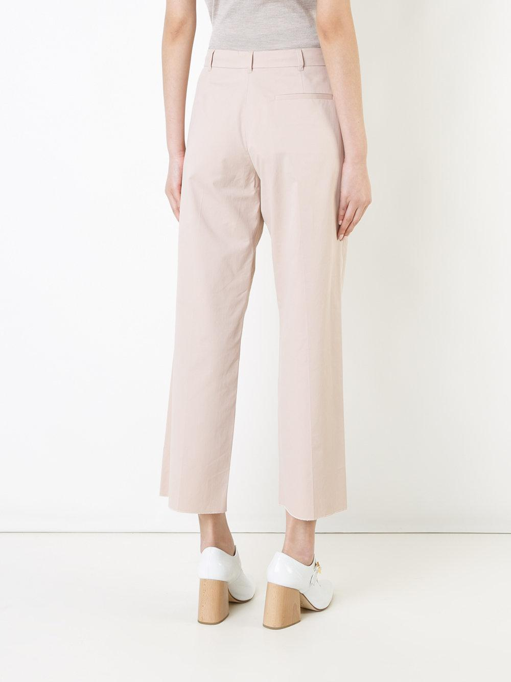flared trousers - Nude & Neutrals Agnona Cheap Pre Order 2018 Newest For Sale Hurry Up Cheap Price From China Low Shipping Fee For Sale q7yiJMfT6Y