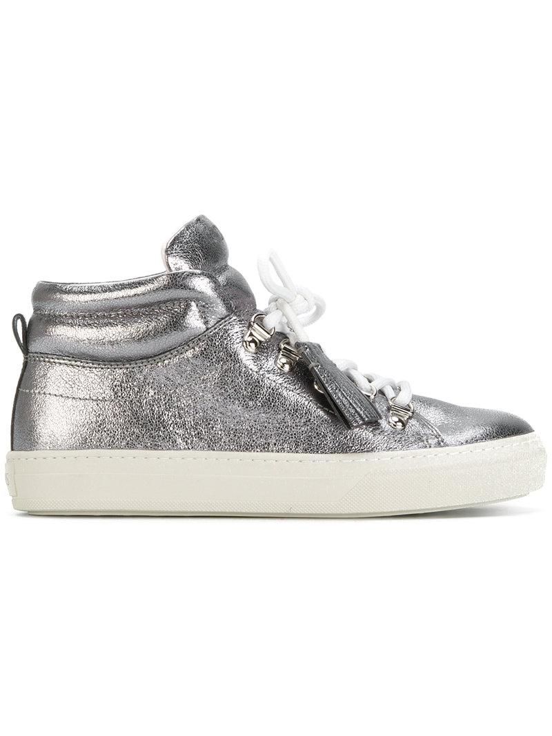 2014 newest Tod's Metallic Fringe-Trimmed Sneakers clearance discounts marketable ijvMnXit
