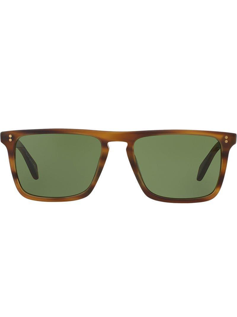 bdc60f3846 Oliver Peoples Bernardo Sunglasses in Brown for Men - Lyst