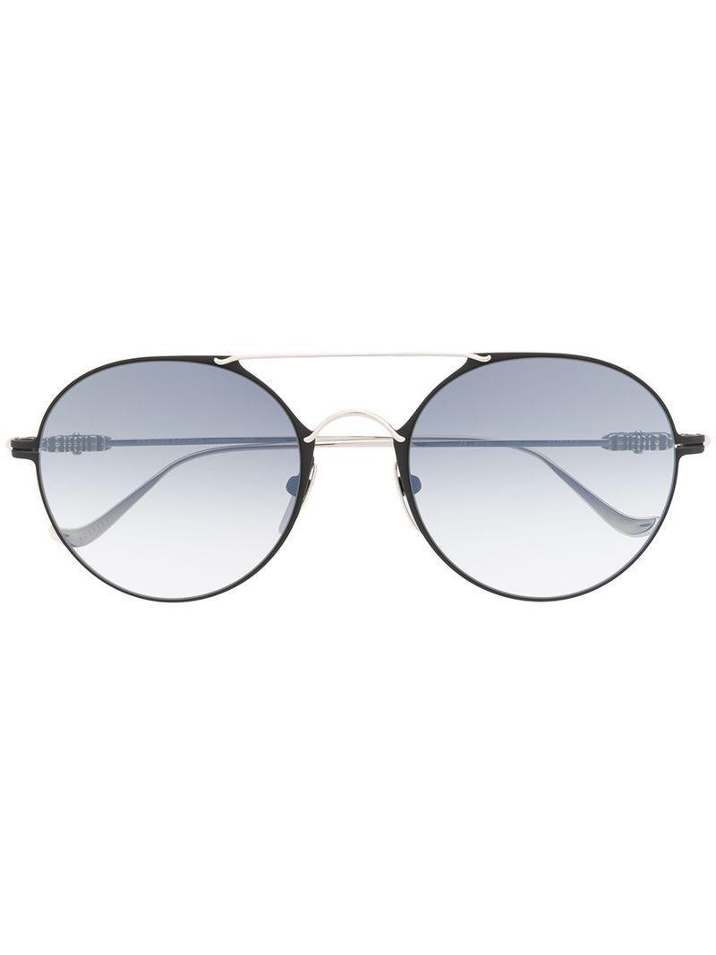 788b98c26e6 Chrome Hearts Round Sunglasses in Metallic - Lyst