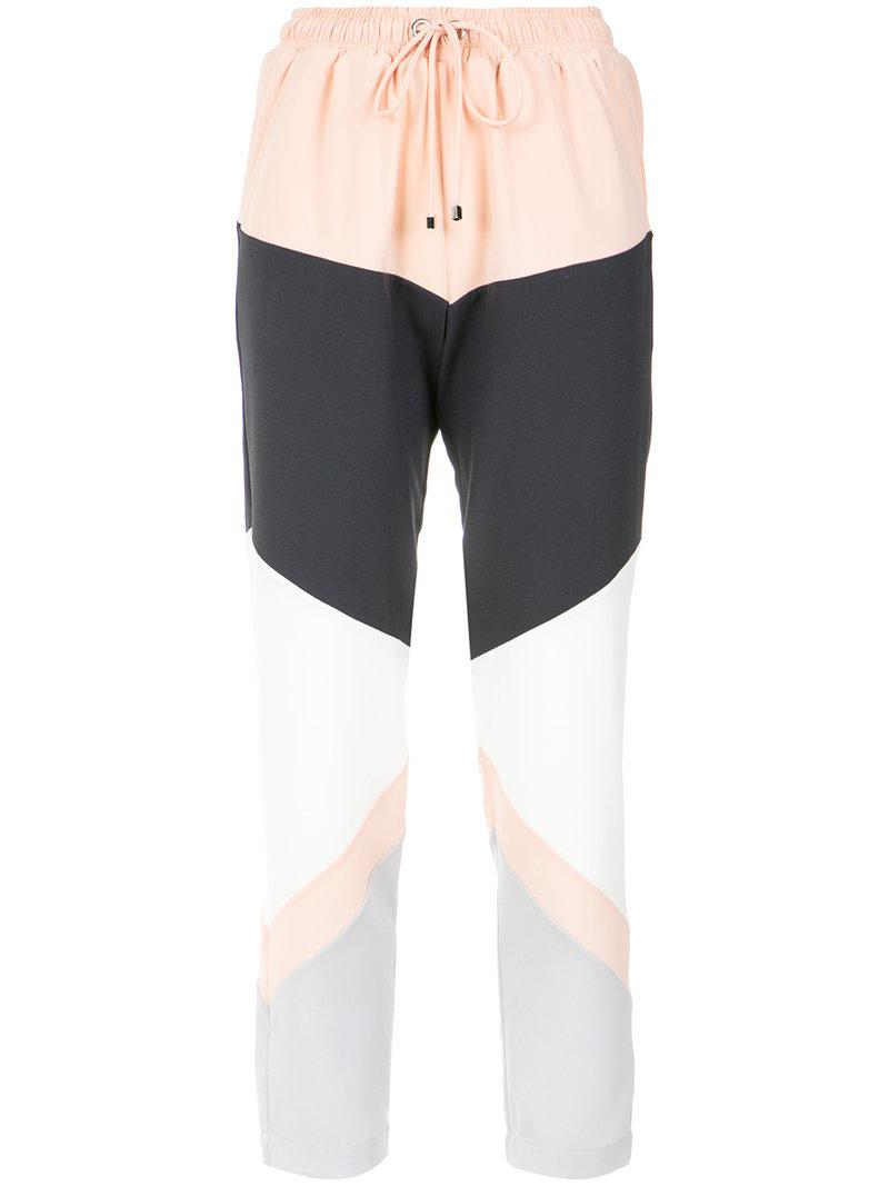 panelled straight trousers - Multicolour OLYMPIAH Pay With Paypal Cheap Price 66wXFgC
