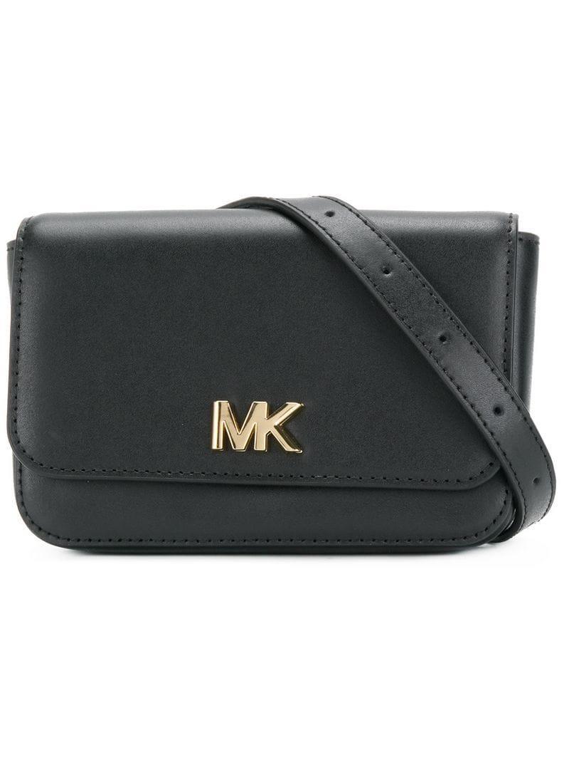 585060379822c9 MICHAEL Michael Kors Belt Bum Bag in Black - Lyst