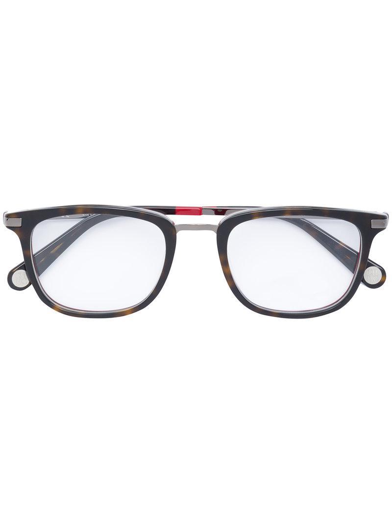 4c6c8638cc CH by Carolina Herrera Square Glasses in Black - Lyst