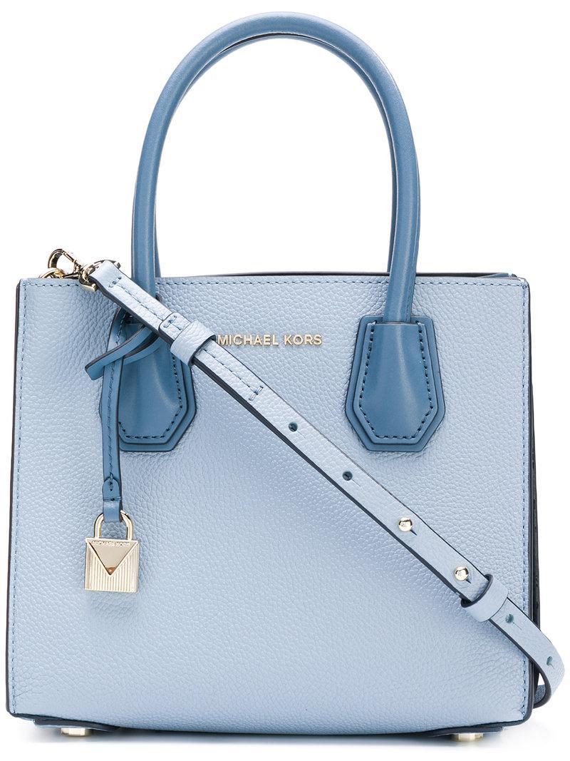 0f208b90c43750 Michael Michael Kors Mercer Tote Bag in Blue - Lyst