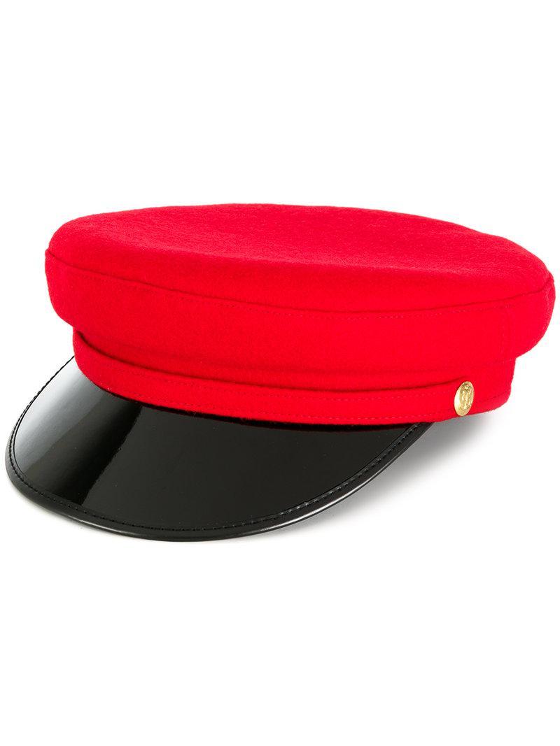 Biker hat - Red Manokhi Xrv3gle