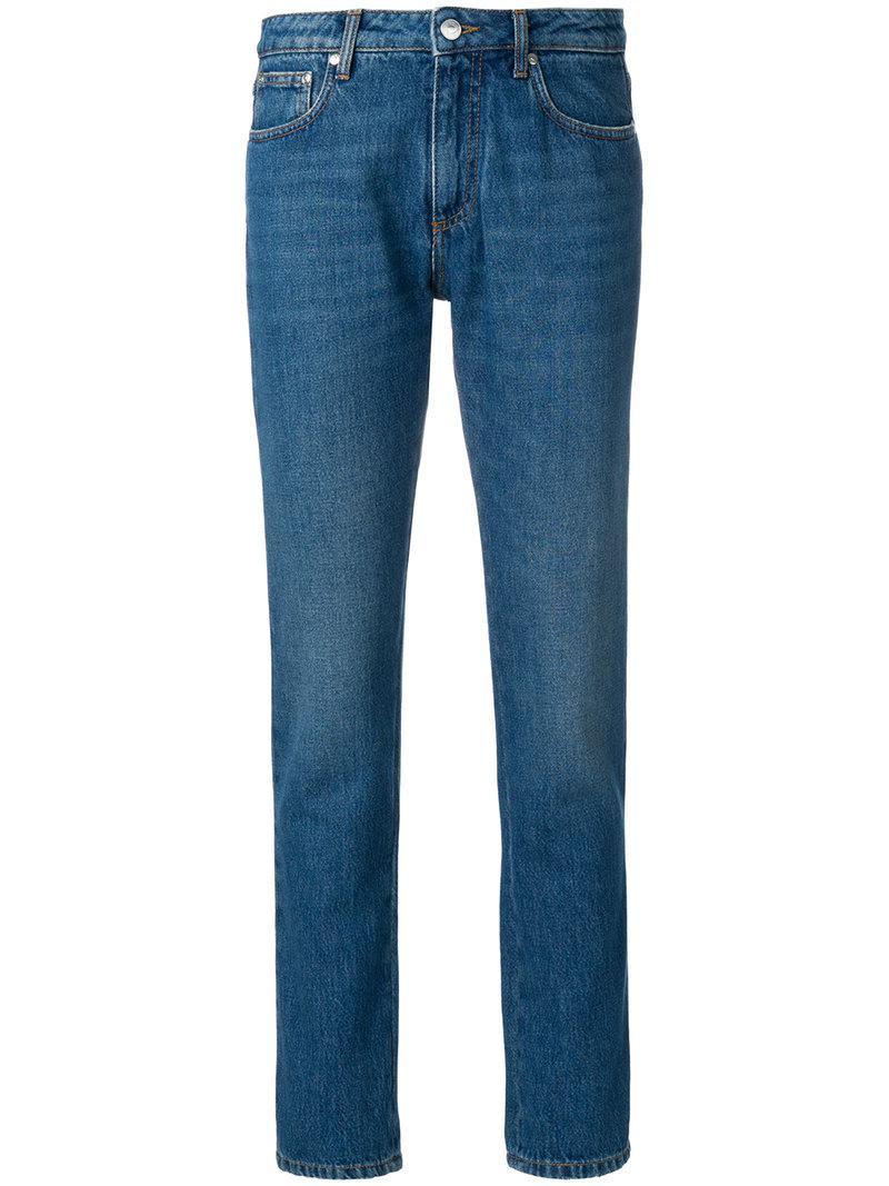 Msgm Woman Crystal-embellished Mid-rise Straight-leg Jeans Mid Denim Size 38 Msgm wfGtmkWRRL
