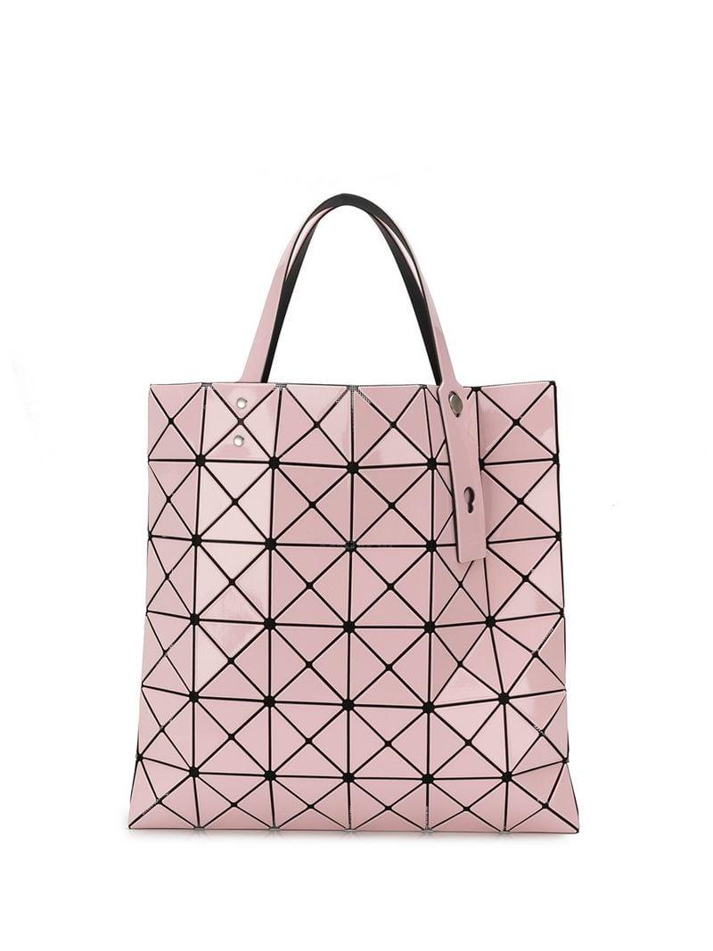 Bao Bao Issey Miyake Lucent Tote Bag in Pink - Lyst 2a4026d1ec2e1