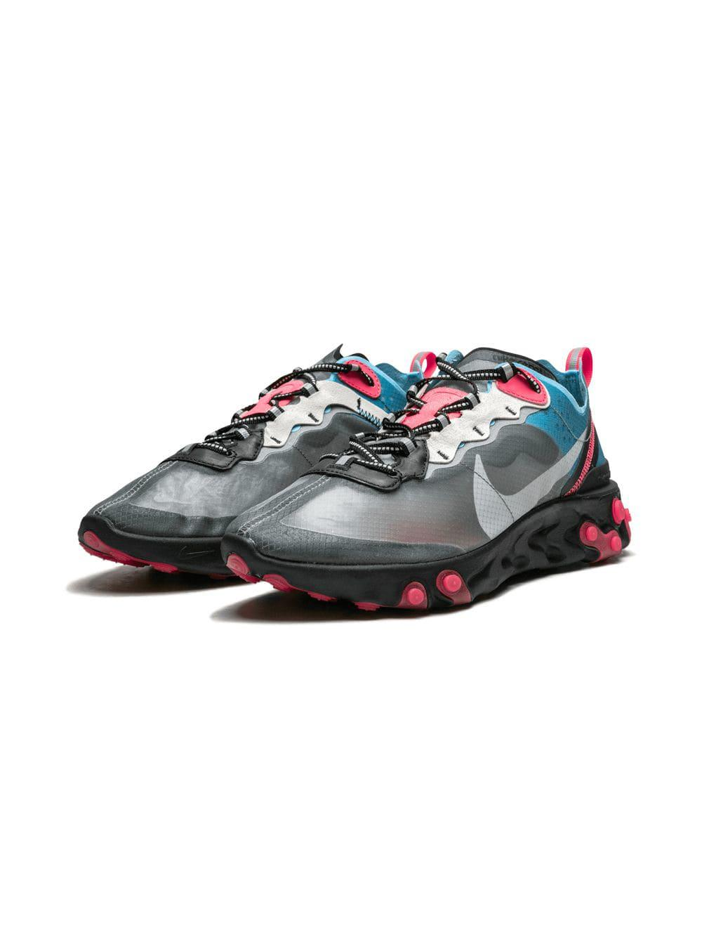 785bd7bee31a Lyst - Nike React Element 87 Sneakers in Gray for Men