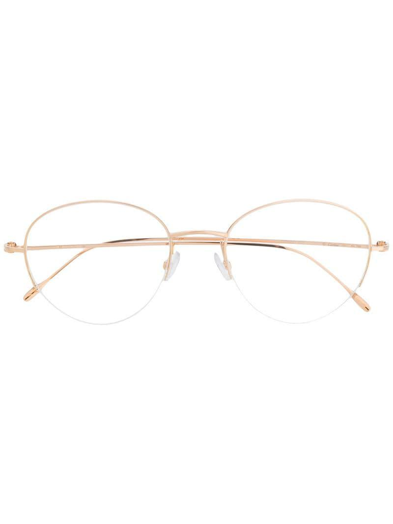 a983cd91d4 Cartier Louis Glasses in Metallic for Men - Lyst