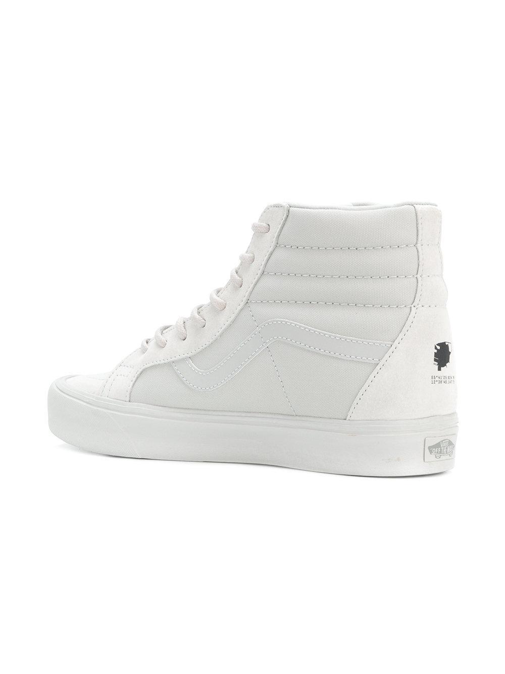 eb6976d743fc2c Lyst - Vans Sk8-hi Lite Sneakers in White for Men