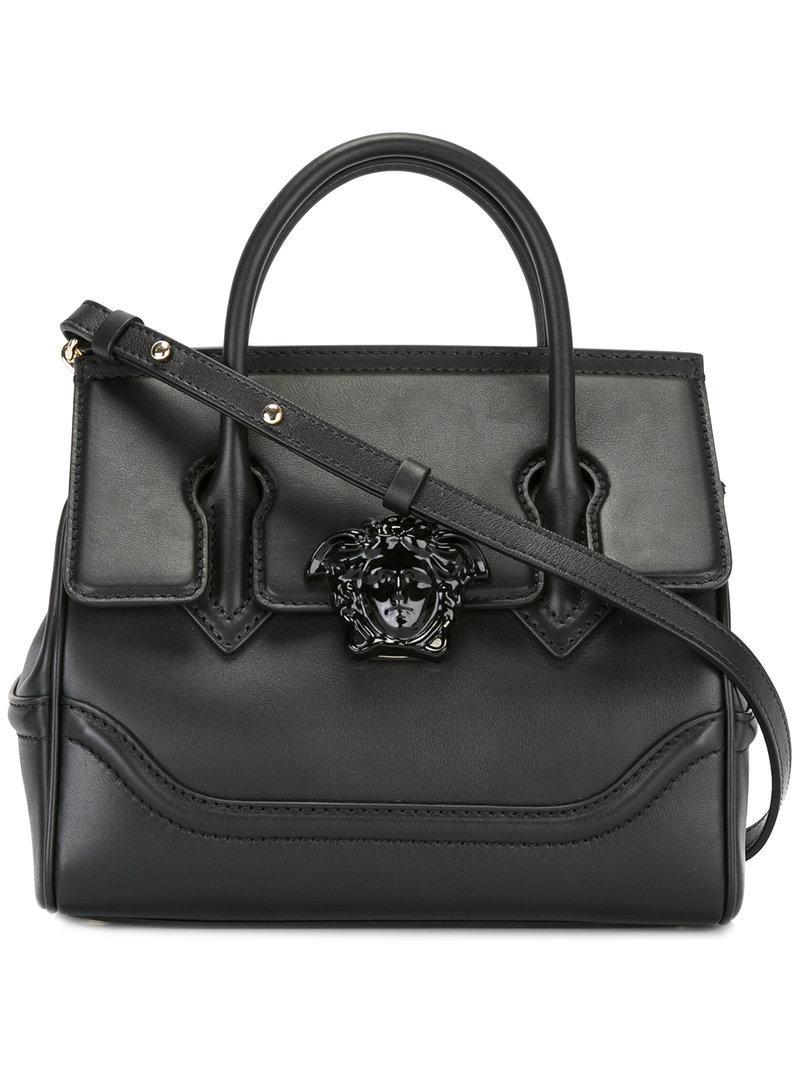 3bae8cd9196a Lyst - Versace Palazzo Empire Shoulder Bag in Black - Save 9%