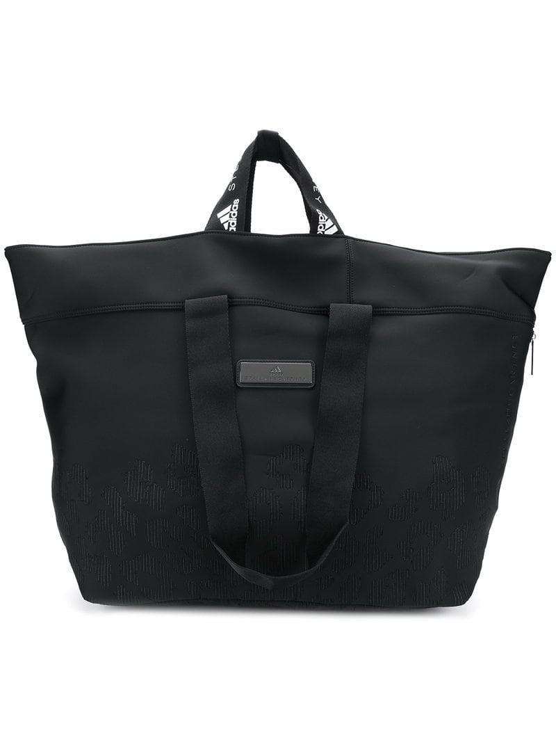 adidas By Stella McCartney Large Gym Holdall in Black - Lyst d50311291b2d7
