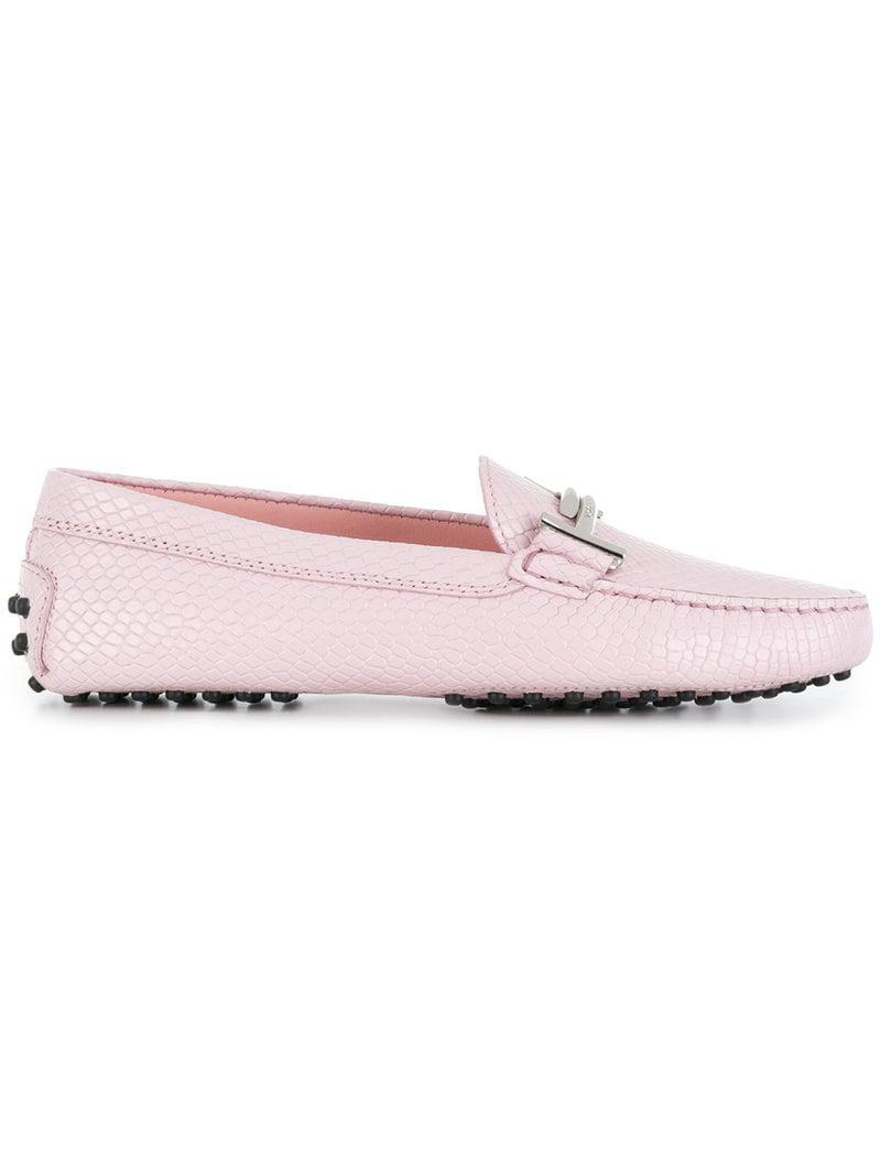 d270436ced0 Lyst - Tod S Gommino Loafers in Pink