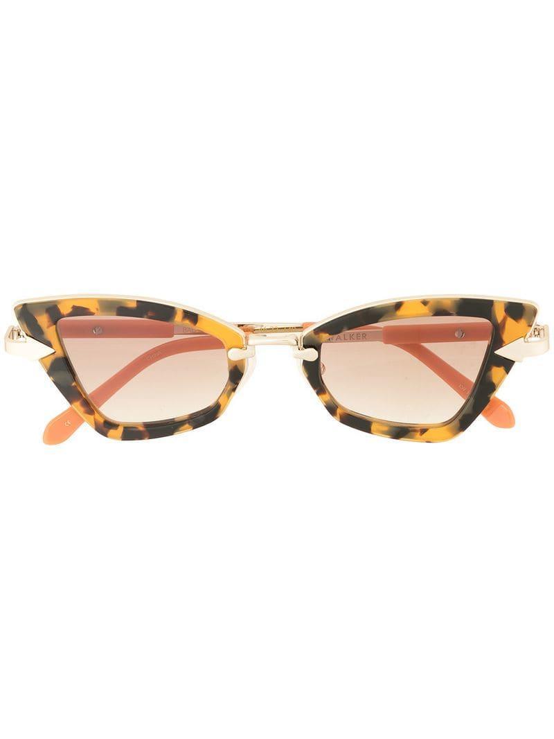 35e725ac4e Karen Walker Bad Apple Sunglasses in Brown - Lyst