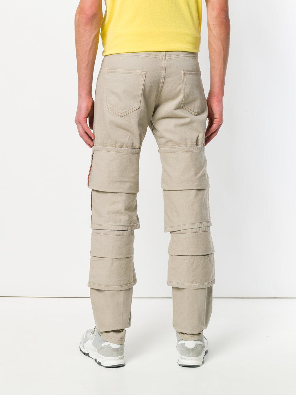 layered trousers - Nude & Neutrals Y / Project DNq7Le