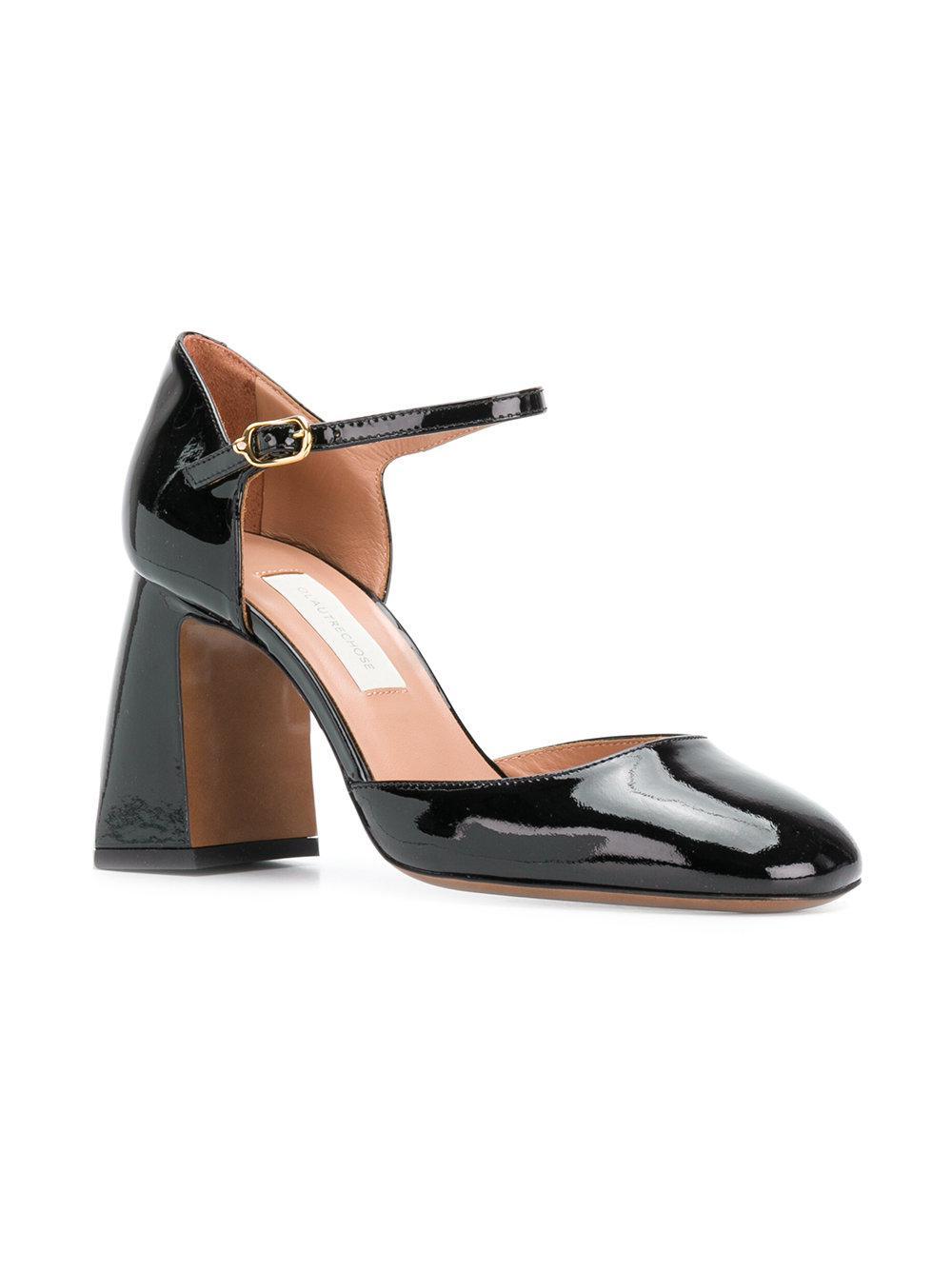 Free Shipping Browse Cheap Best Seller curved heel sandals - Black L'autre Chose Discount Amazon A8qU1pC