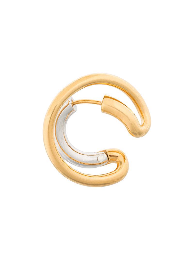 Charlotte Chesnais Ego Small single earring - Metallic oisK7LP