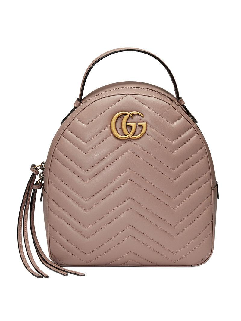 Gucci. Women s Gg Marmont Quilted Leather Backpack cd1720c7eb01a
