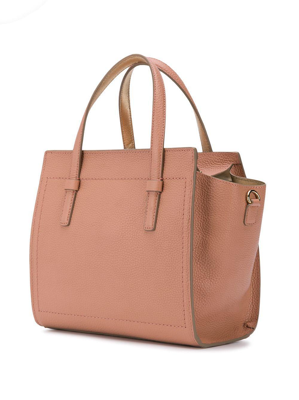 Ferragamo - Pink Xs Shopping Tote Bag - Lyst. View fullscreen 6f93f9550823f