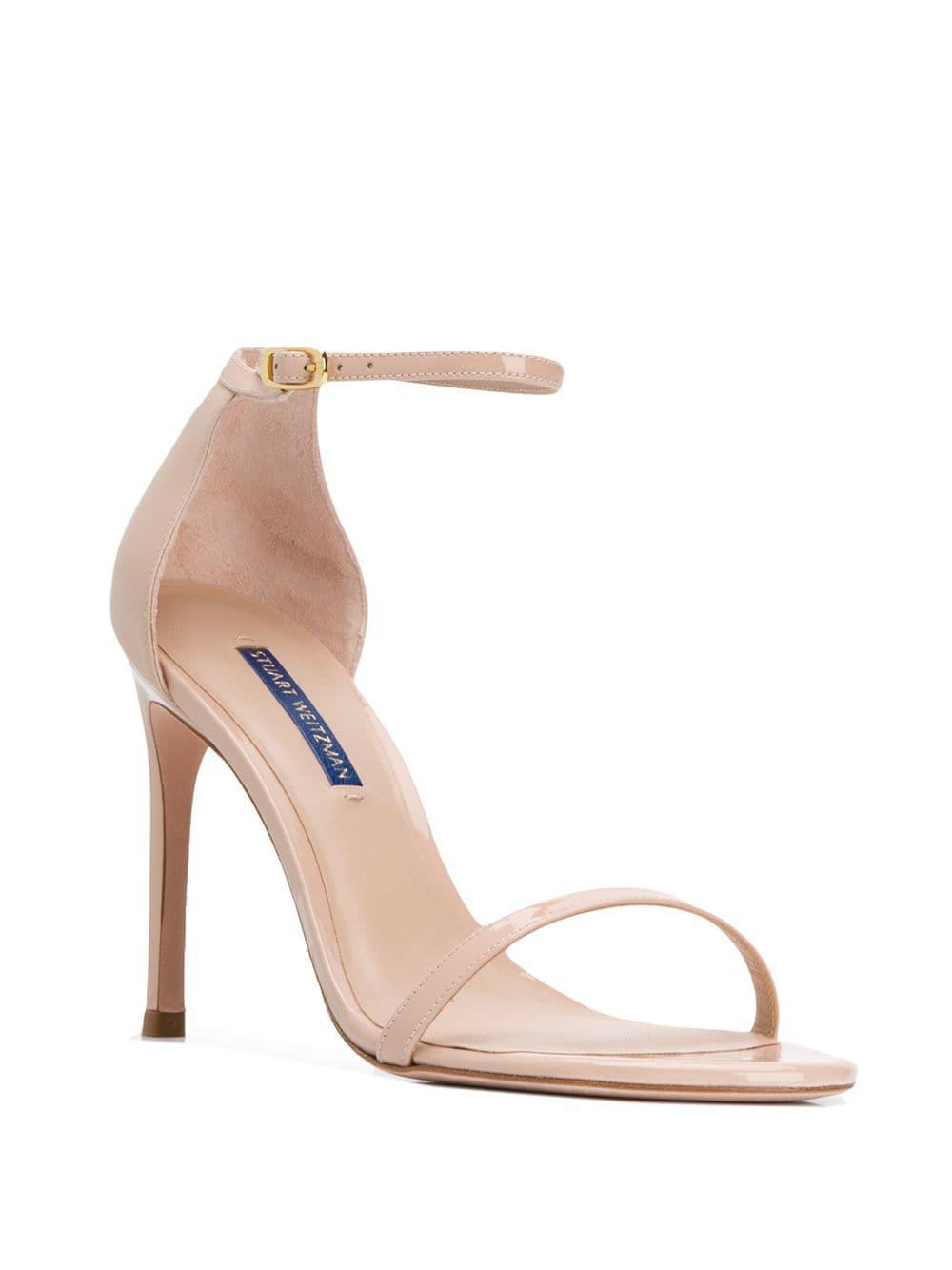 95e4699c3d17 Lyst - Stuart Weitzman Nudistsong High-heeled Sandals