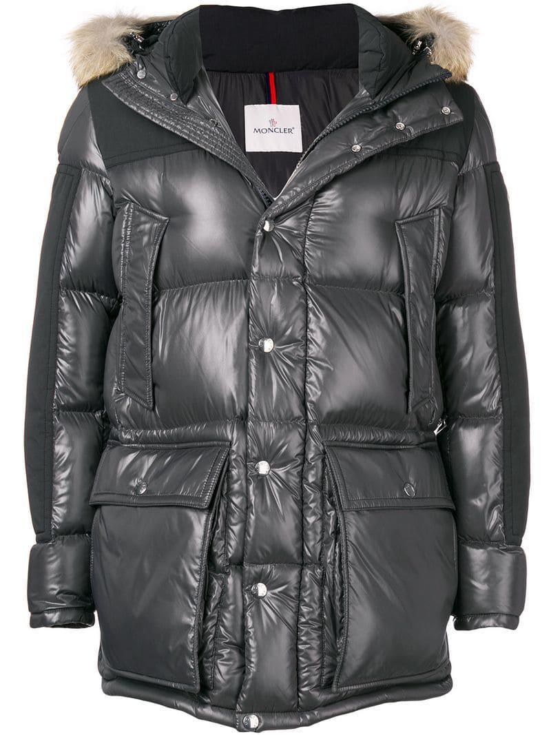03845c9b7 Moncler Frey Padded Jacket in Gray for Men - Lyst
