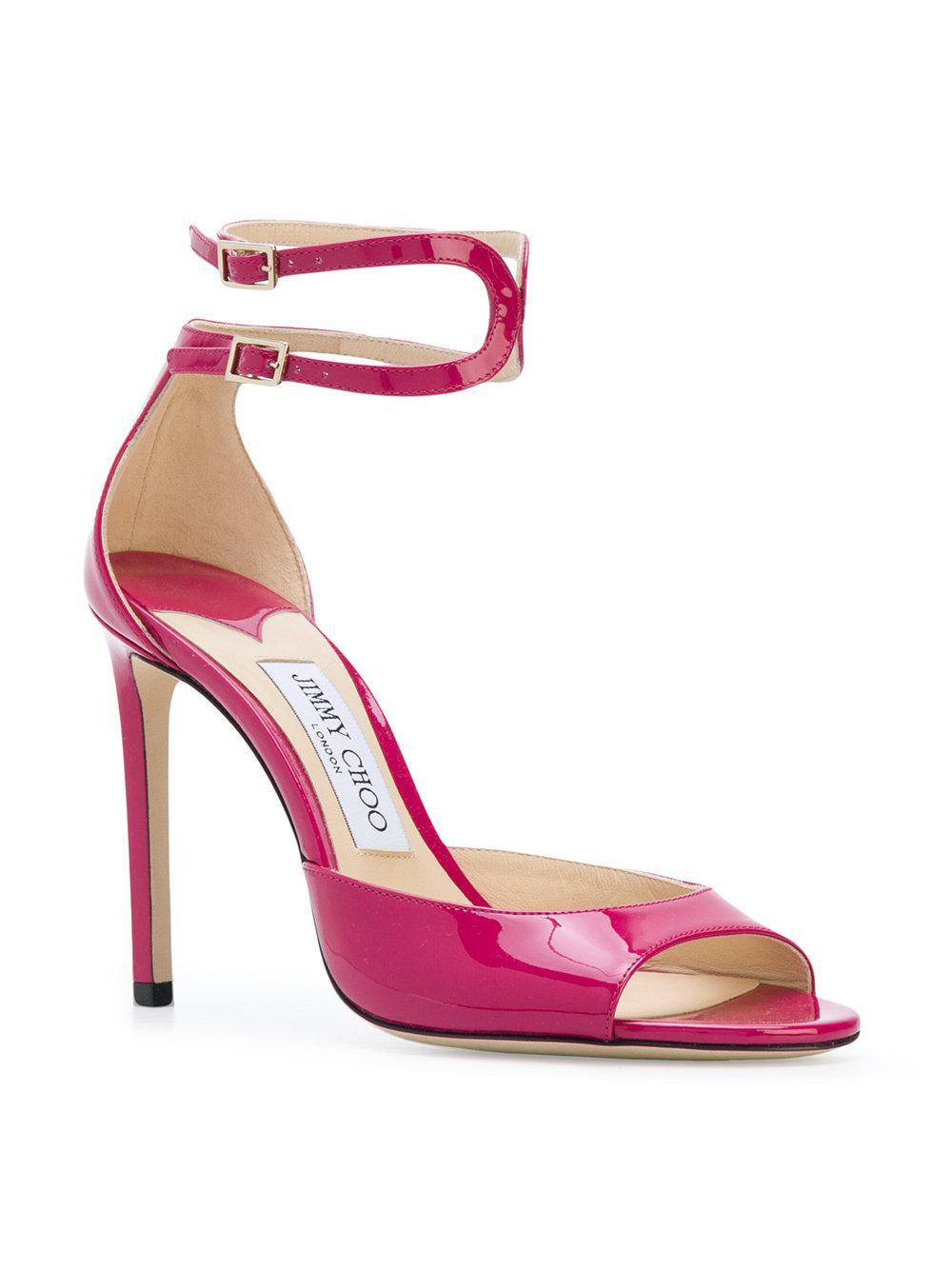 Langpat sandals - Pink & Purple Jimmy Choo London 0vjfWr4