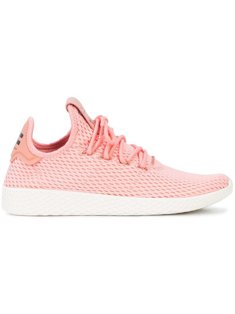 online store ba434 153ee ... sweden adidas adidas adidas originals pharrell williams tennis hu  sneakers in lyserød for a5d3f2 83652 aabb3