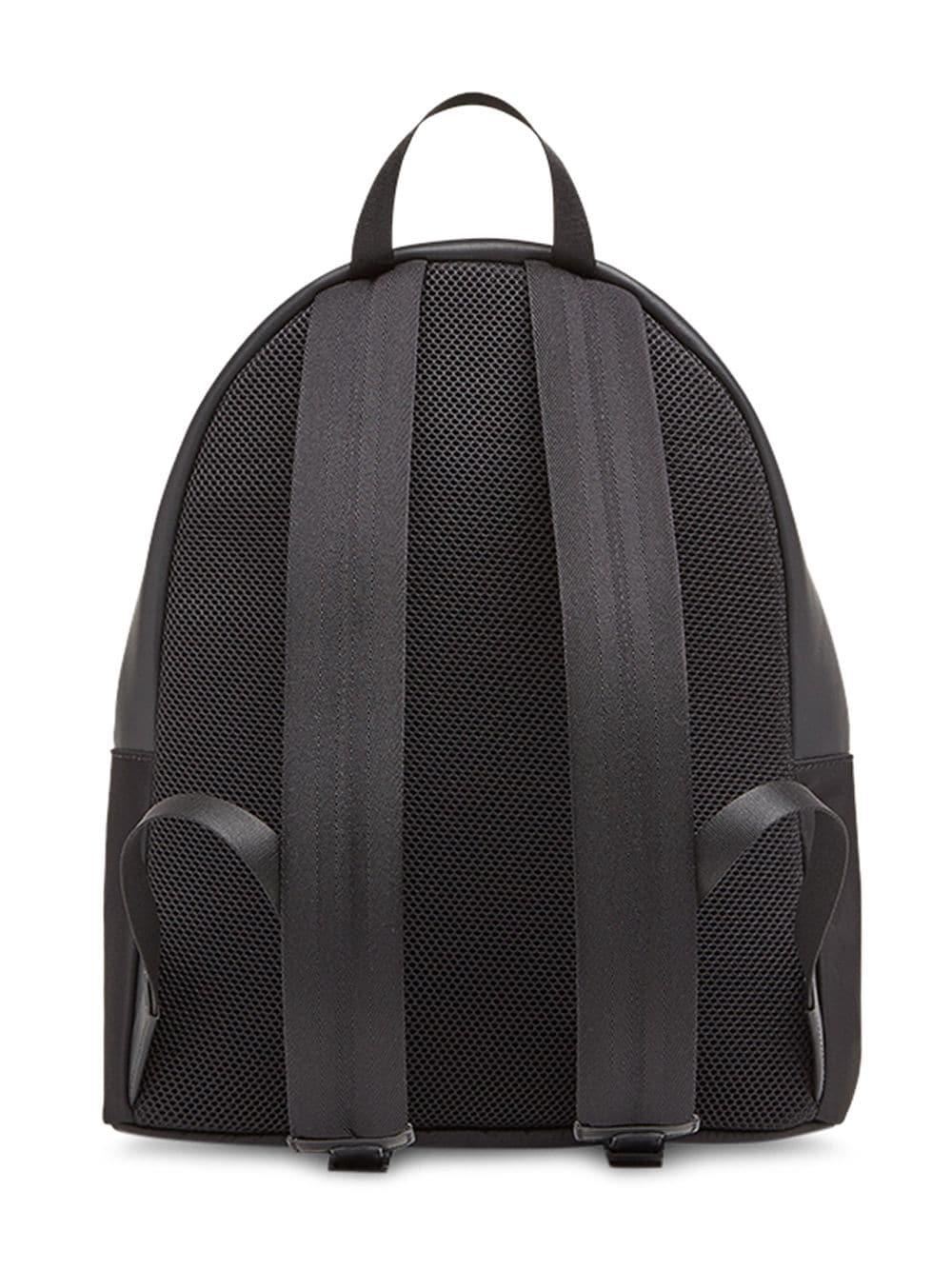 f69f79ce9329 Lyst - Fendi Large Appliqué Backpack in Black for Men