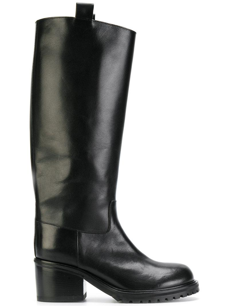A.F.VANDEVORST Heeled wellington boots REAYAQMhV