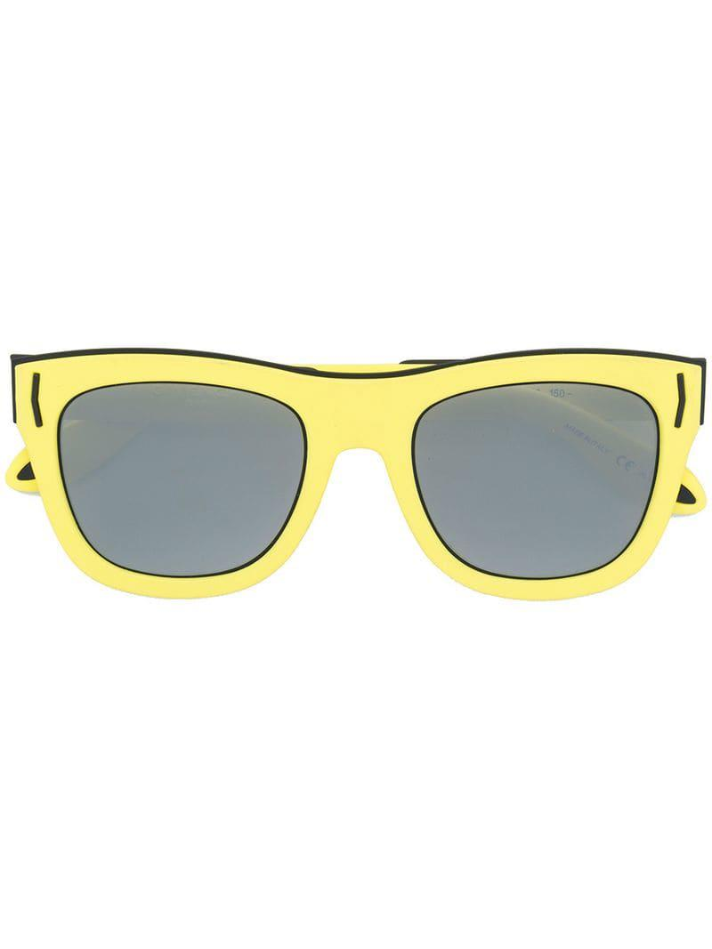 9b2433c26730 Givenchy Square Tinted Sunglasses in Yellow - Save 1% - Lyst