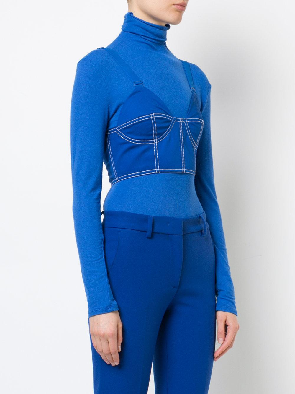6cb80b7d65b94 Givenchy - Blue Workwear Bra - Lyst. View fullscreen