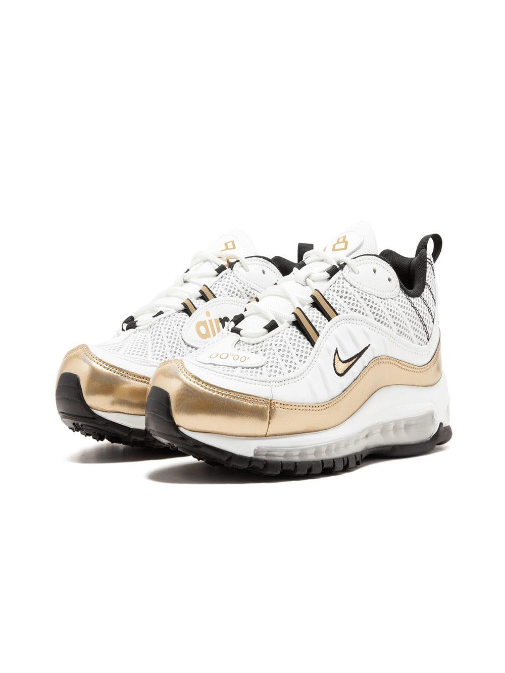 6144a0d0bfb8 Lyst - Nike Air Max 98 Uk Sneakers in White for Men