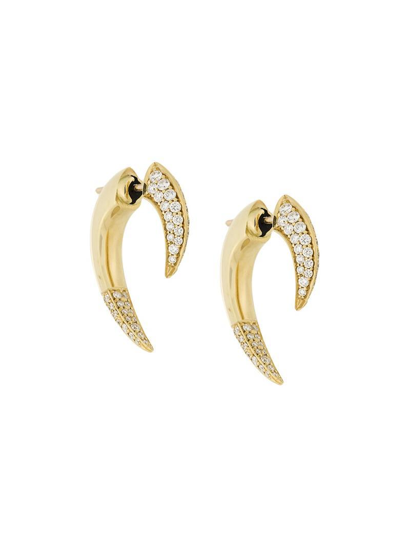 Shaun Leane Talondiamond earrings - Metallic foOZ3sCh2q